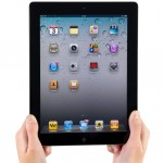 Holding iPad2 Vertical