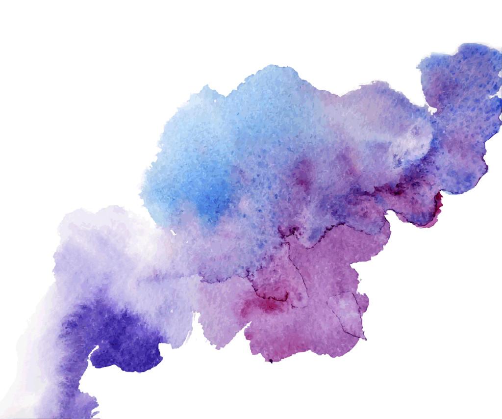 watercolor splash a nice spot on the wet